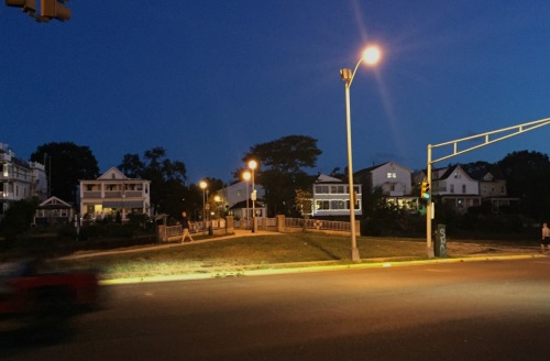 Bridge across Wesley Detention/retention Basin. Blogfinger photo ©