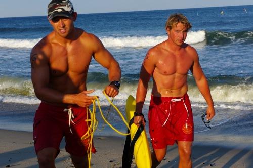Lifeguard Tournament 2014. Ocean Grove team. Paul Goldfinger photo. ©