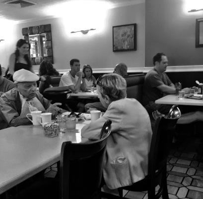 New York City café by Lee Morgan of Ocean Grove. August, 2016. ©