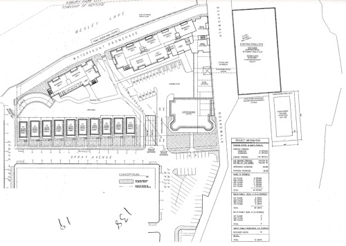 Concept plan for the North End. At no time have detailed architectural drawings been submitted. Where are they, Mayor?