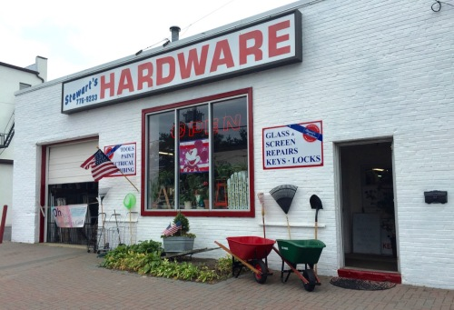 Stewart's Hardware. Bradley Beach. Paul Goldfinger photo. ©