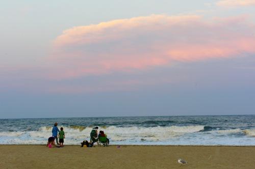 Ocean Grove. 9/4/16. 7:30 pm. Paul Goldfinger photo ©