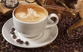 Cappuccino.: double espresso , hot milk, and milk foam. Internet photo