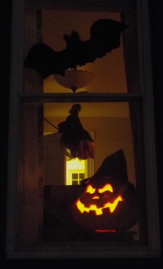 Where have all the pumpkins gone? By Jean Bredin...around town with Jean at night in Ocean Grove.©