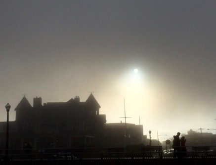 Shining a light on Ocean Grove. Blogfinger photo. ©