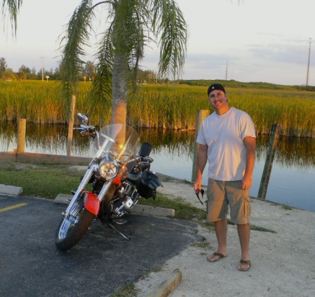 Sun going down at the Everglades. 2013. Paul Goldfinger photo ©