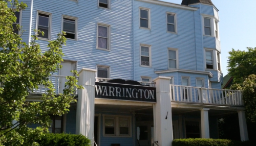 The Warrington. 22 Lake Avenue in Ocean Grove, NJ. Blogfinger photo 2012.