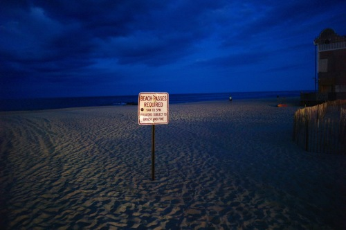 No man's land where Asbury Park and Ocean Grove meet at the OG North End. © Paul Goldfinger photo.   ©