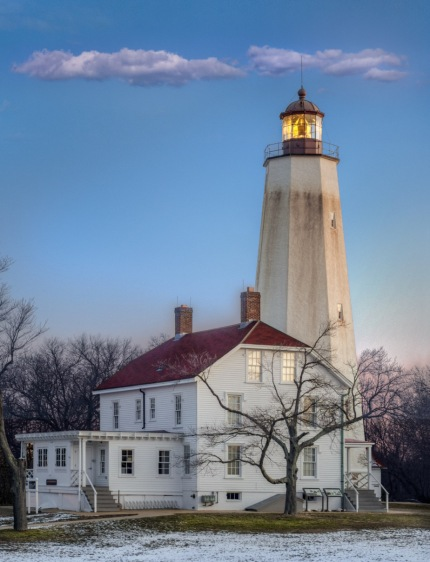 Sandy Hook Lighthouse by Bob Bowné. See his original post on this photograph linked below.