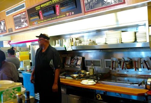 Waffle House, Santee, South Carolina. Jan 15, 2017. By Paul Goldfinger ©.