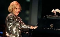 Marion McPartland performs at age 90.