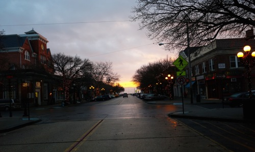 Main Avenue, OG. 8 am, December, 2013. Paul Goldfinger ©