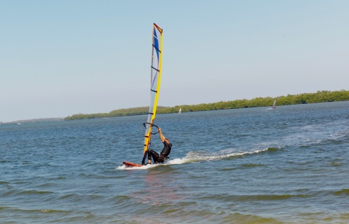 Wind surfer #2 Blogfinger photo. ©
