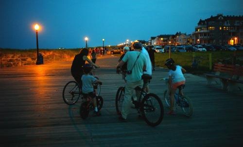 Boardwalk where A. Park meets O. Grove. Summer. OG lifestyles. Paul Goldfinger photo. ©
