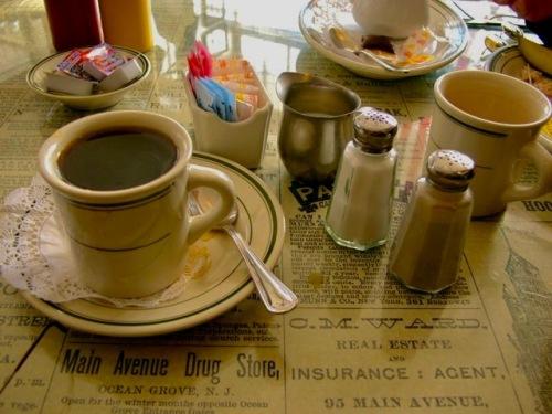 Cuppa Joe at Nagales. Ocean Grove, NJ. Paul Goldfinger photo. ©