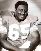 Larry Little, NFL star fromm Bethune-Cookman University. Internet photo, although perhaps you saw him live at the game in Houston.