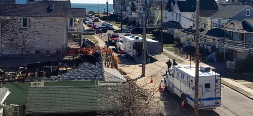 ATF trucks on the scene. Seaview Ave. 1 pm. March 5, 2017. Photo by Tim Doody, special to Blogfinger ©