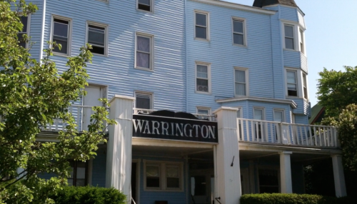 The Warrington. 22 Lake Avenue in Ocean Grove, NJ. Blogfinger photo 2012.