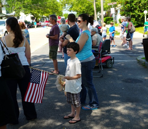 Main Avenue. Memorial Day parade 2012. Paul Goldfinger photo©