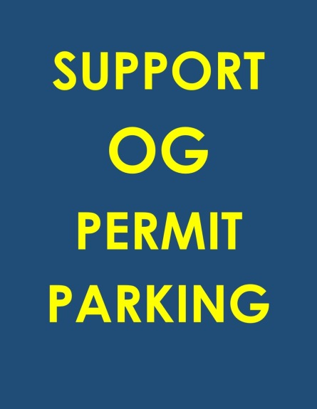 SUPPORT OG PERMIT PARKING