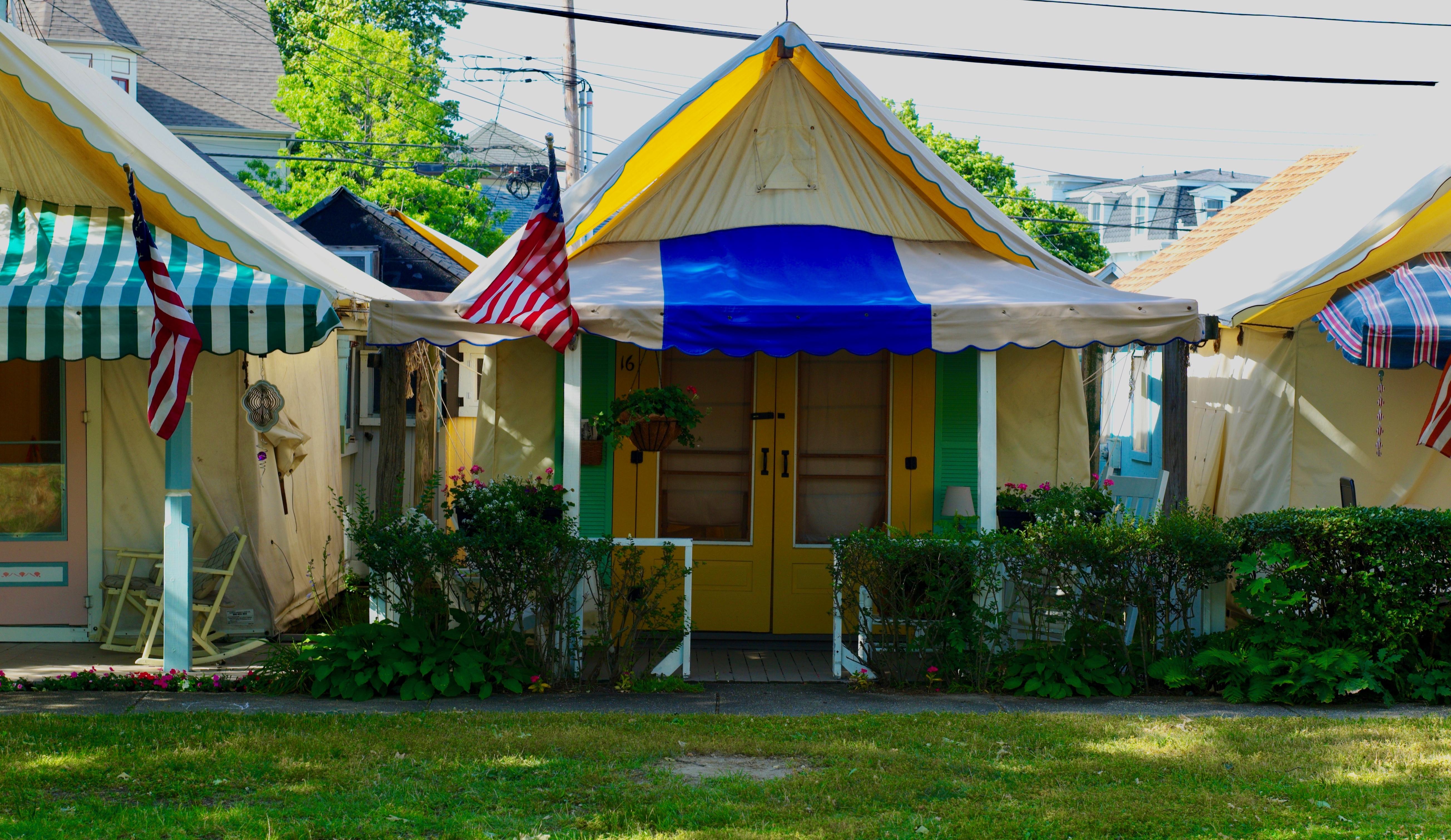 Ocean Grove Tent Village 2017. #3. & Ocean Grove Tent Village 2017. #3. | Blogfinger