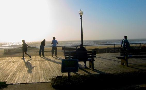 8-28 8:28boardwalk sillouette