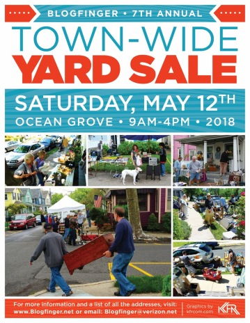 Yard Sale Poster 2018