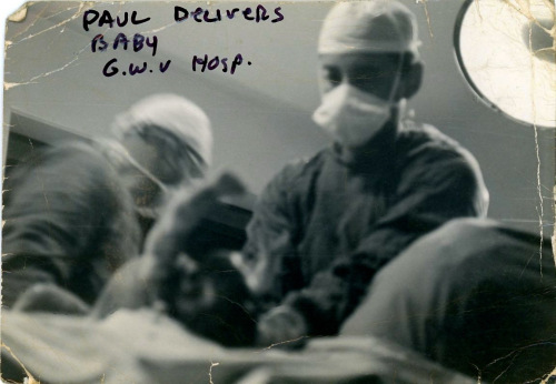 The George Washington University Hospital, Wash. D.C. c.1966. Photographer Bill Adams, MD.