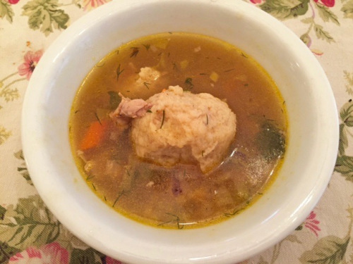 Myrna's Jewish Chicken Soup. This batch was just made. By Eileen Goldfinger. Editor @Blogfinger ©